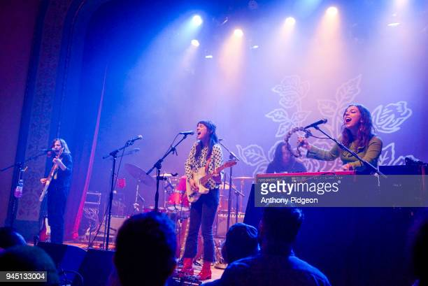 The Wild Reeds performs on stage at the Aladdin Theater in Portland Oregon United States on 8th March 2018