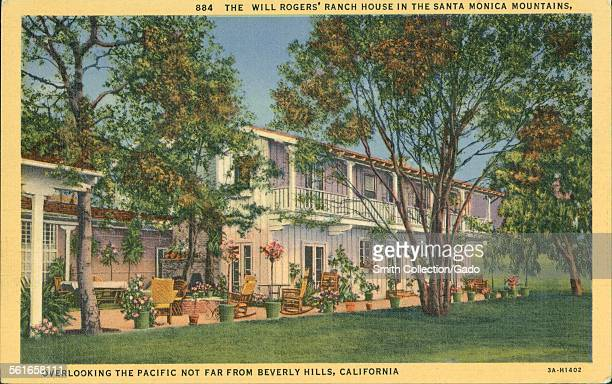 The Will Rogers Ranch House Pictures Getty Images
