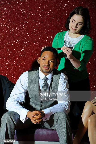 The Will Smith waxwork figure is unveiled at Madame Tussauds on May 22 2013 in London England