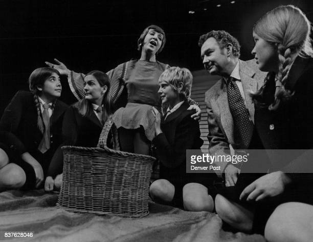 The willful Miss Jean Brodie played by Marion Neet proposes a picnic as a form of diversion for some of her school girls and the school's music...