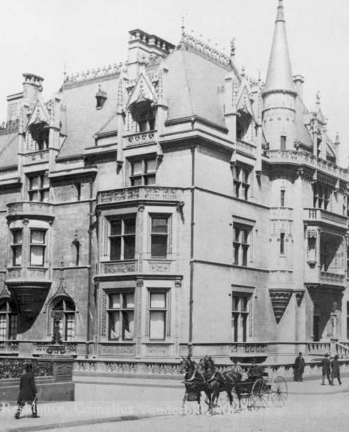 The William K. Vanderbilt House at 660 Fifth Avenue,...