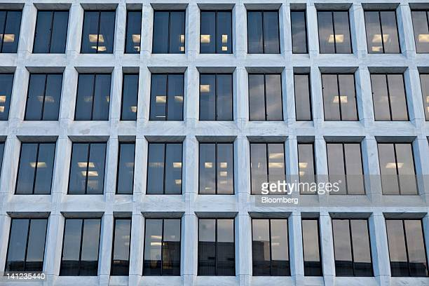 The William McChesney Martin Jr. Federal Reserve building stands in Washington, D.C., U.S., on Tuesday, March 13, 2012. Federal Reserve Chairman Ben...