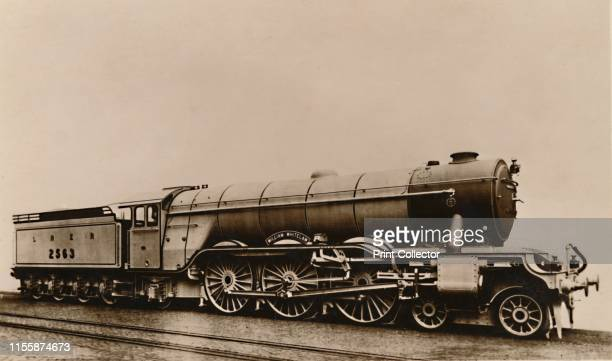 "The ""William Whitelaw"" Locomotive', circa 1930s. London & North Eastern Railway steam locomotive. Postcard. Artist Unknown."