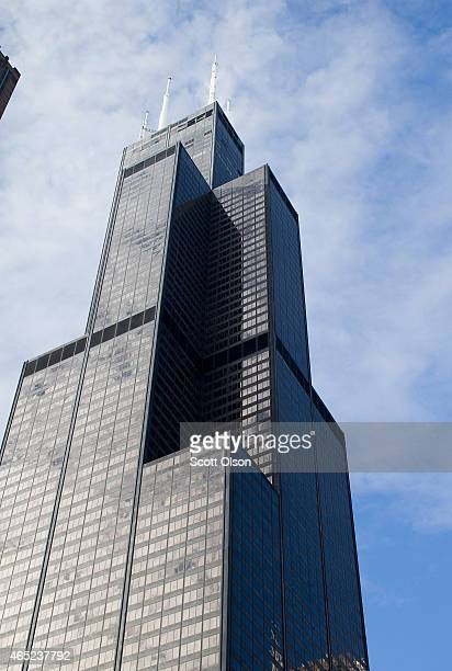 The Willis Tower formerly known as the Sears Tower dominates the southern end of the downtown skyline on March 4 2015 in Chicago Illinois The...