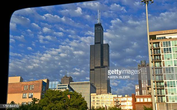The Willis Tower formerly the Sears Tower is seen in this August 27 2013 photo in Chicago Illinois THe 110stroy Willis Tower stands at the heart of...