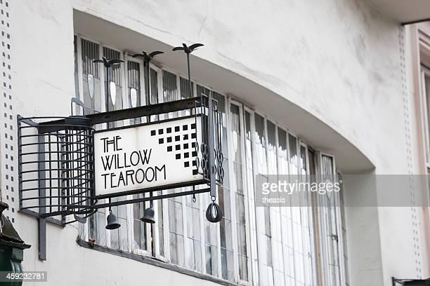 the willow tearoom, glasgow - theasis stockfoto's en -beelden