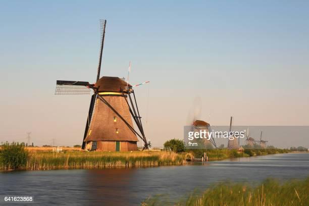 The windmills of Kinderdijk (South Holland, Kinderdijk/ Molenwaard)