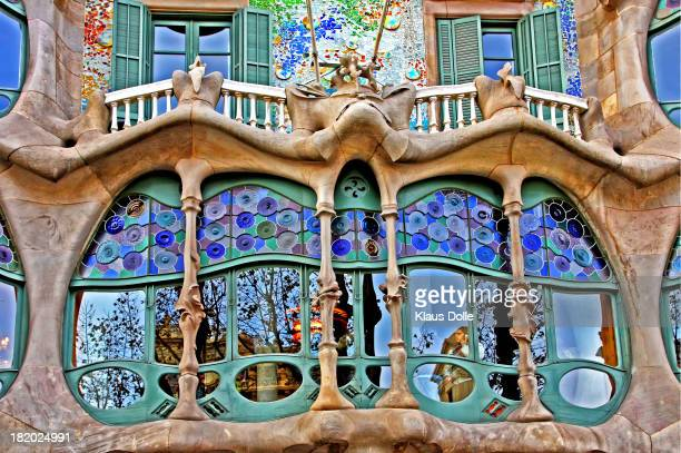 CONTENT] The window of casa Batllo
