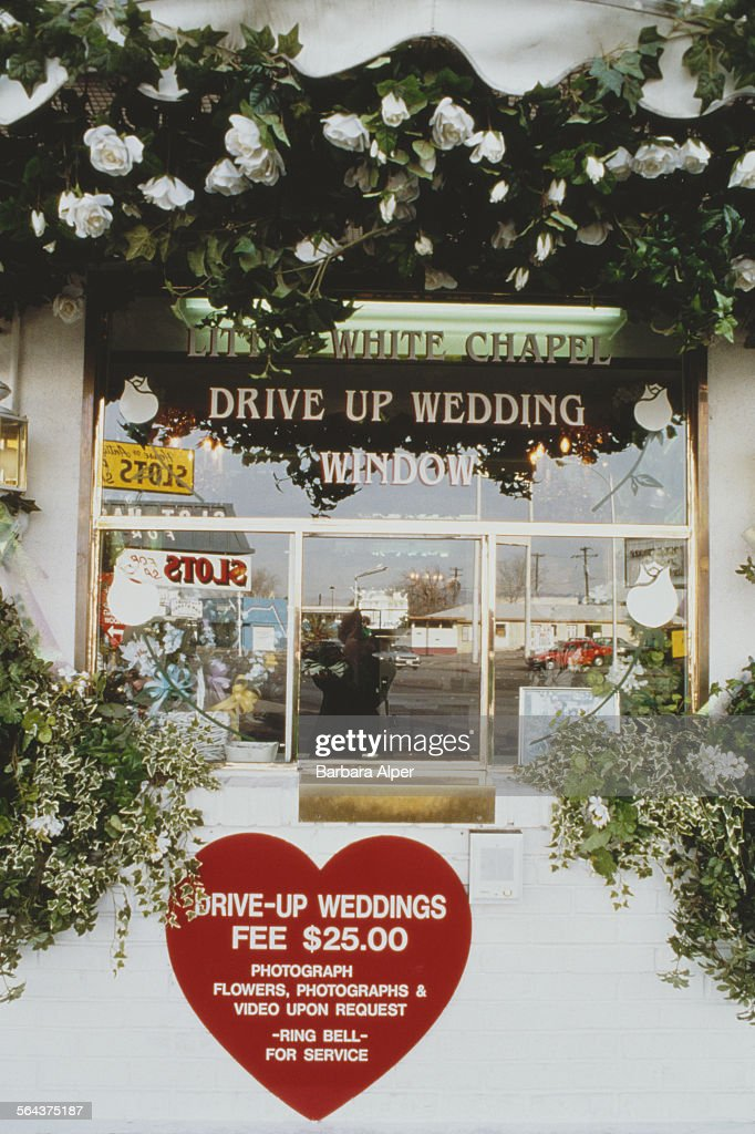 Little white chapel pictures getty images the window of the little white chapel drive up wedding chapel las mightylinksfo
