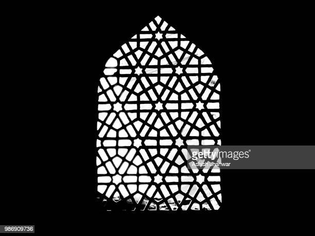 the window of the stars. - architectural feature stock pictures, royalty-free photos & images