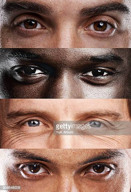 the windows to the soul, no matter where you're from! - global village stock pictures, royalty-free photos & images