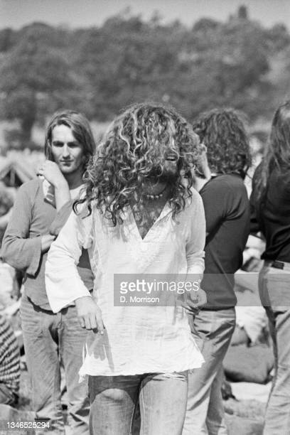 The Windsor Free Festival in Windsor Great Park, UK, 25th August 1974.