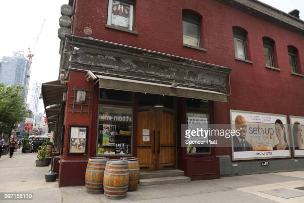 The wine bar and music venue City Winery stands in lower Manhattan on July 12 2018 in New York City The Walt Disney Co which has announced that it...