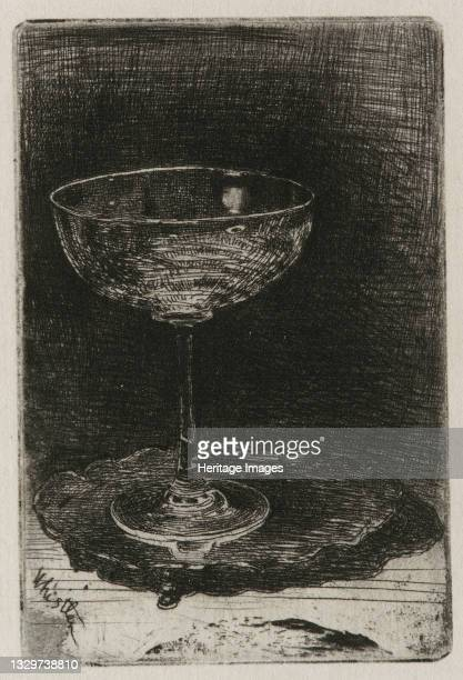 The Wine Glass, 1858. Artist James Abbott McNeill Whistler.