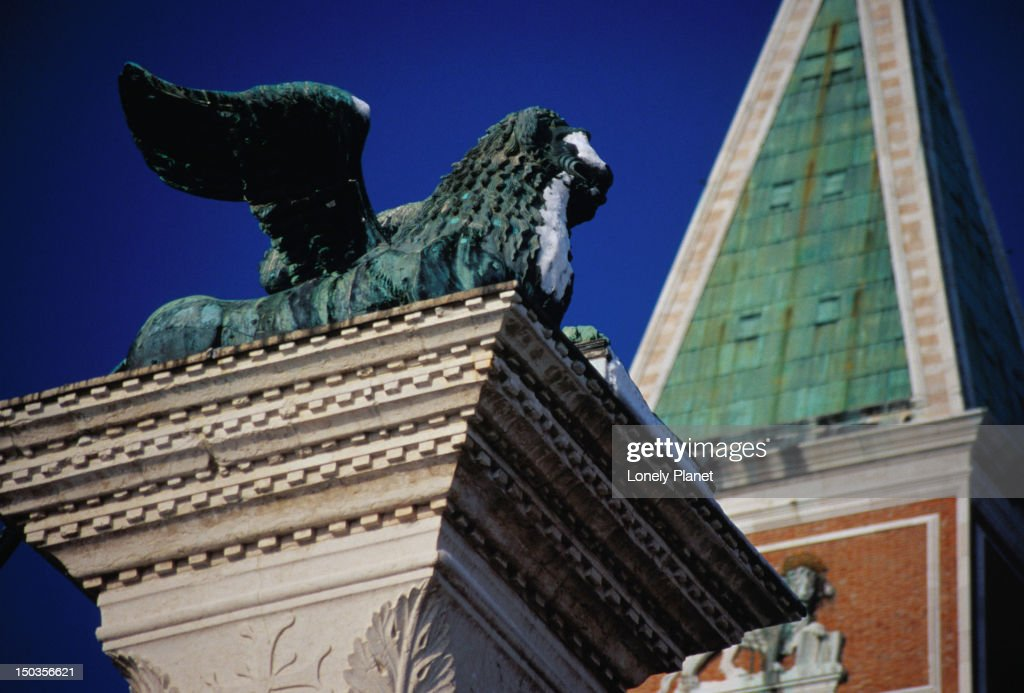 The Winged Lion Of Venice The Lion Is The Symbol Of St Mark And