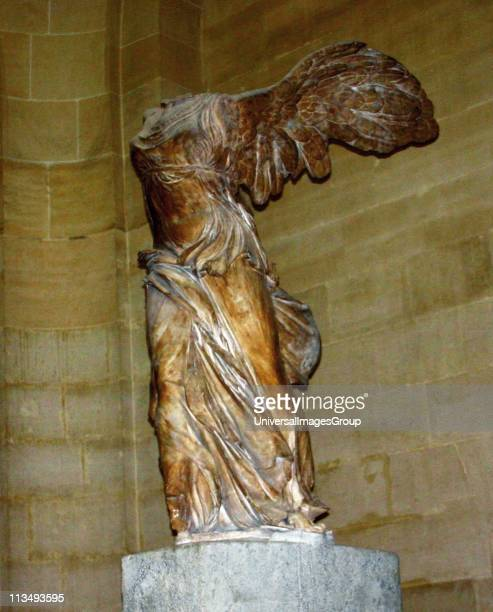 The Winged Victory of Samothrace also called the Nike of Samothrace is a second century BC marble sculpture of the Greek goddess Nike Since 1884 it...