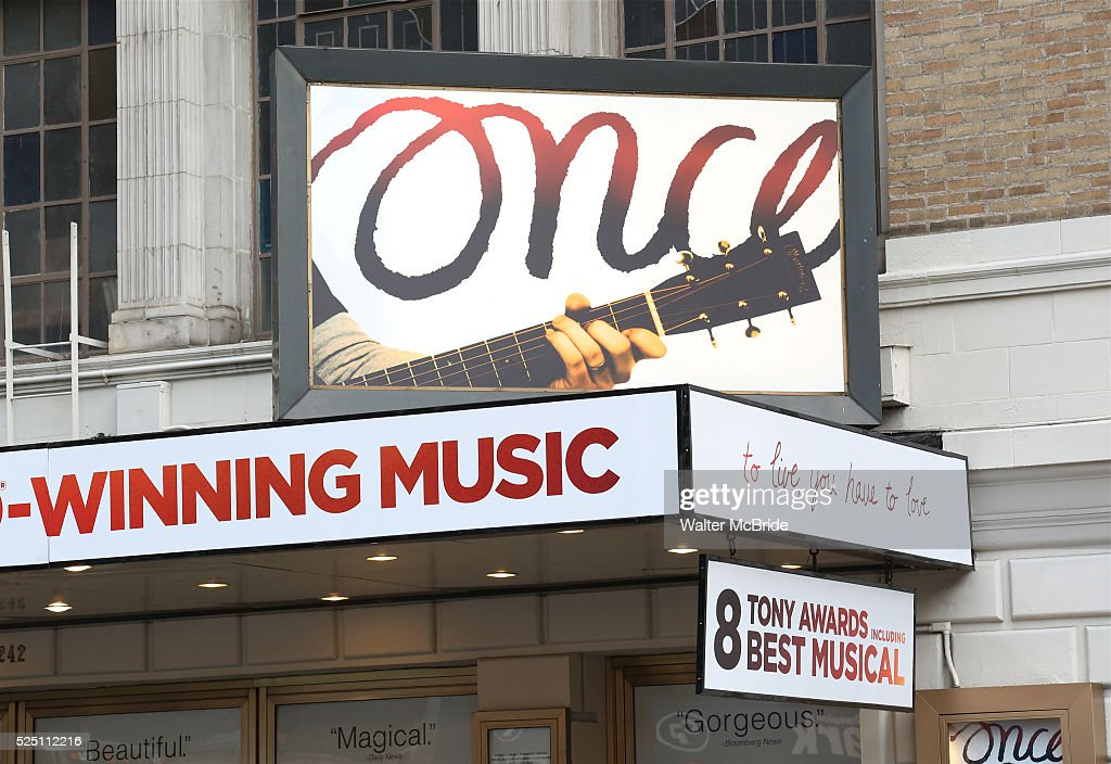 Image result for once theatre marquee