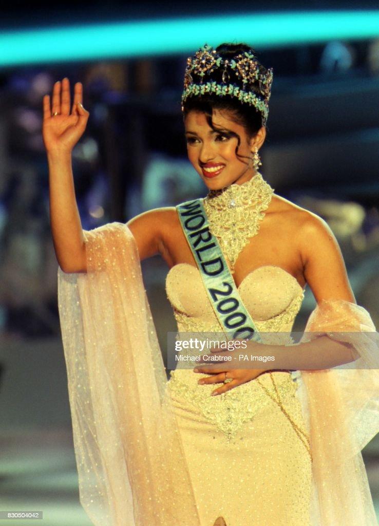 The Winner Of Miss World 2000 Miss India Priyanka Chopra During
