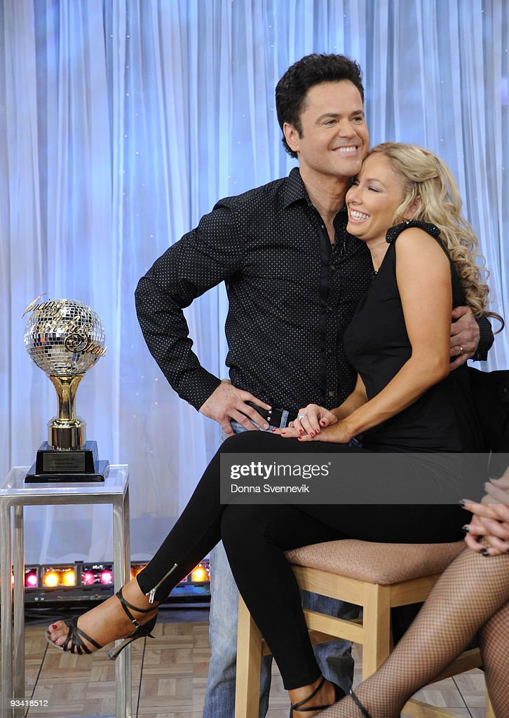 AMERICA - The winners and finalists of this season's 'Dancing With The Stars' stop at Times Square to appear on GOOD MORNING AMERICA, 11/25/09, airing on the ABC Television Network. GM09 (Photo by Donna Svennevik/ABC via Getty Images) DONNY