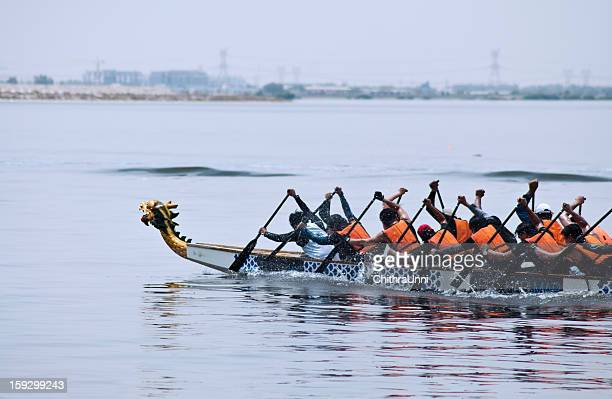 The winners dragon boat race :)