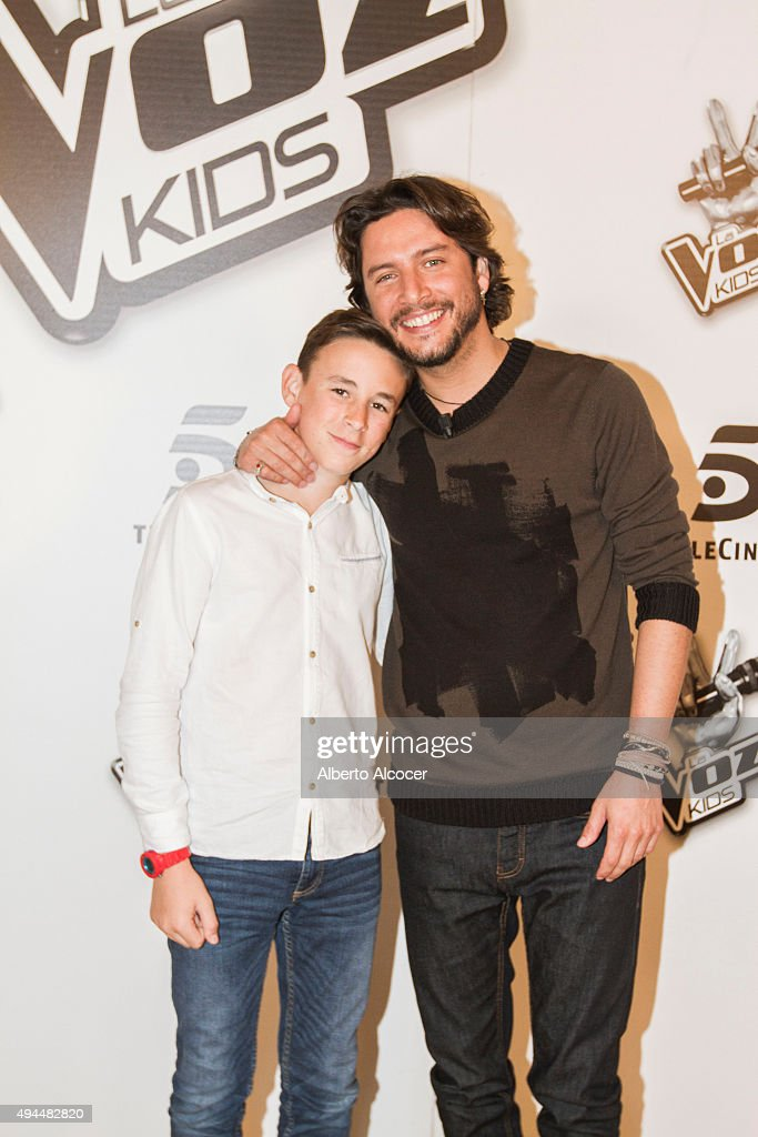 'La Voz Kids' Winners Photo Session