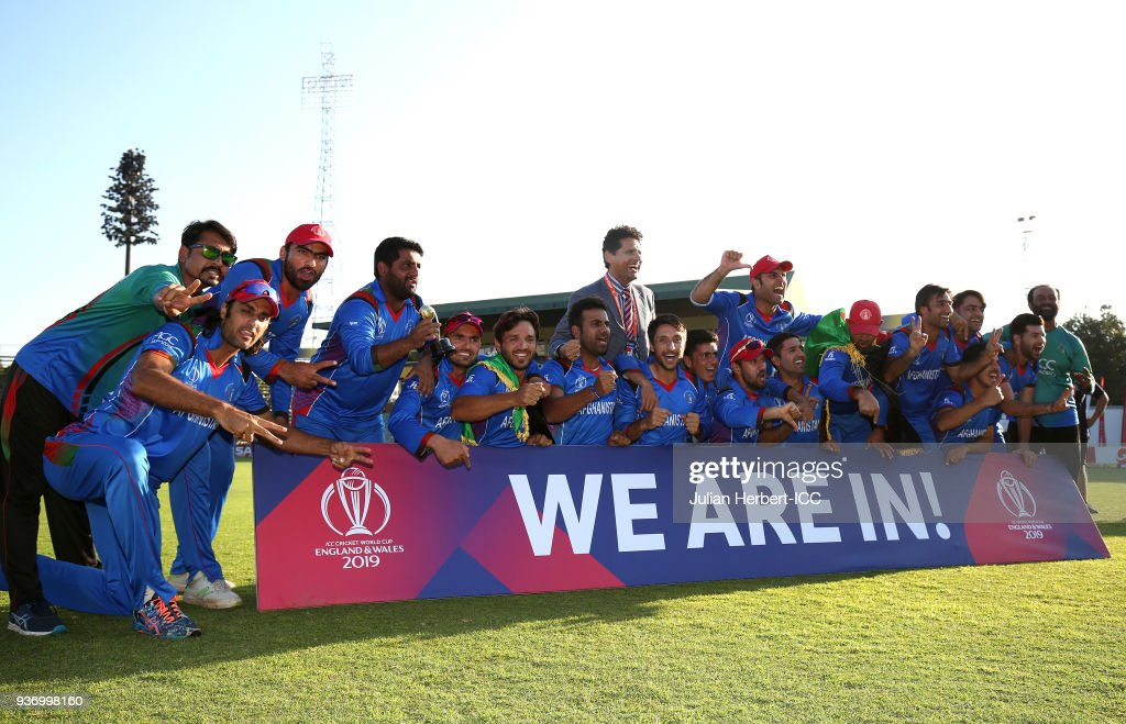 Ireland v Afghanistan - ICC Cricket World Cup Qualifier : News Photo