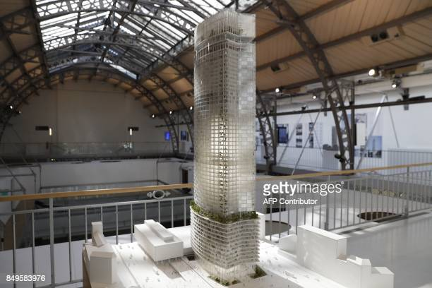 The winning design by a trio of architecture practices called Nouvelle Aom of the international competition for the redesign of the Montparnasse...