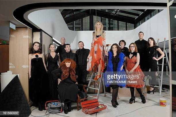 The Winning France The 'Dream Teams' 2007 SocietySonia Rykiel family 'dream team' of the fashion shop in the SaintGermain des Pres in work mowing...