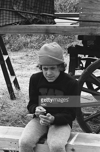 PRAIRIE 'The Winoka Warriors' Episode 3 Aired 9/25/78 Pictured Adam Gunn as Jeb Standish Photo by Ted Shepherd/NBCU Photo Bank