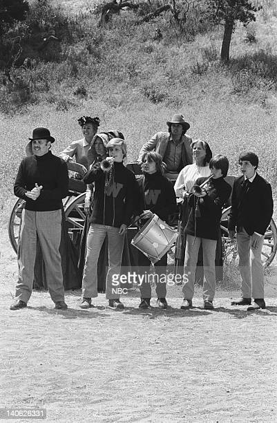 PRAIRIE The Winoka Warriors Episode 3 Aired 9/25/78 Pictured Cast on set Photo by Ted Shepherd/NBCU Photo Bank