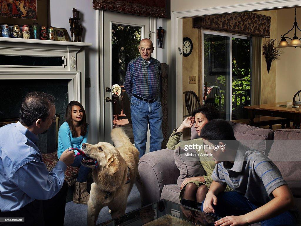 Wonder Dog, New York Times Magazine, February 5, 2012 : News Photo