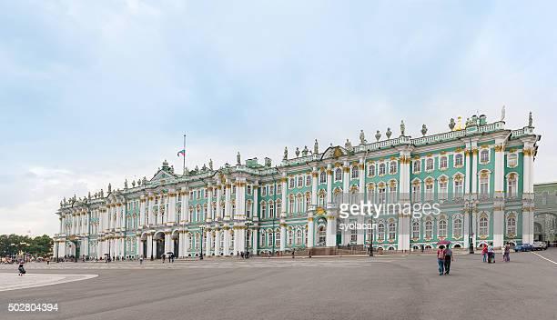 O palácio de inverno do Palace Square, de São Petersburgo, Rússia
