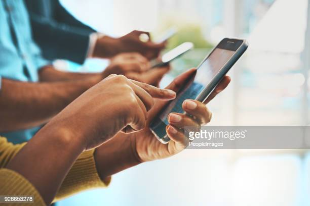 the wireless workforce - mobile app stock pictures, royalty-free photos & images