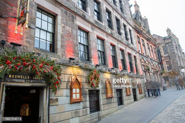 The Witchery restaurant in the Royal Mile of Edinburgh city centre