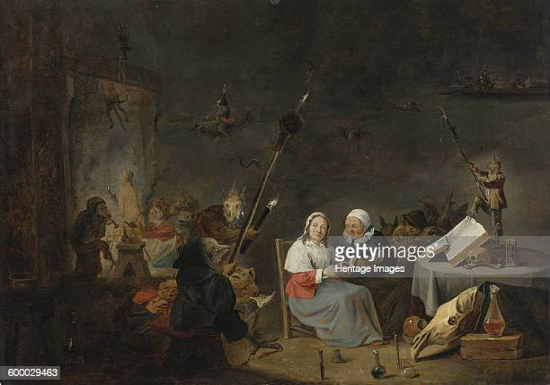 The Witches' Sabbath Private Collection Artist Teniers David the Younger