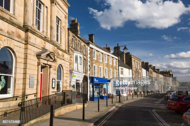 the witham in barnard castle, county durham, uk. - barnard castle stock pictures, royalty-free photos & images