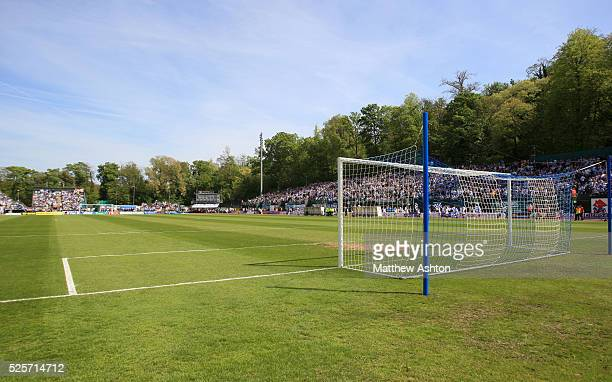 The Withdean Stadium the home of Brighton and Hove Albion FC