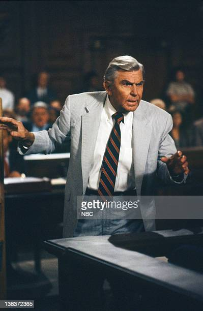 MATLOCK The Witness Killings Part 1 2 Episode 1 2 Pictured Andy Griffith as Benjamin Matlock