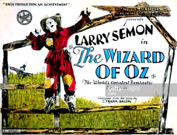 The Wizard Of Oz lobbycard Larry Semon 1925