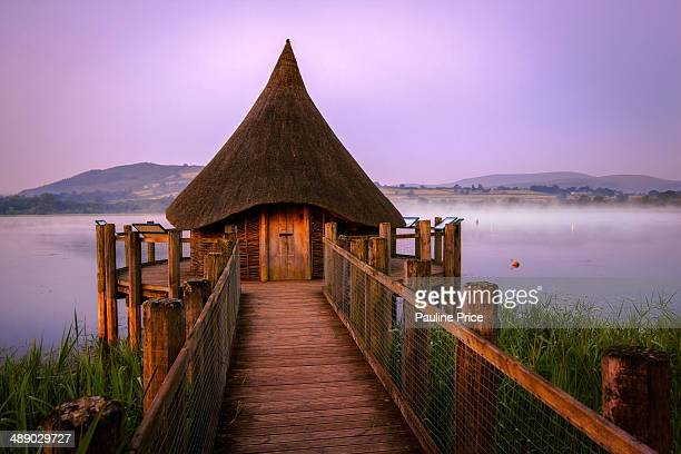 CONTENT] The Wizard's Hat shaped Thatched Hut at Llangorse Lake