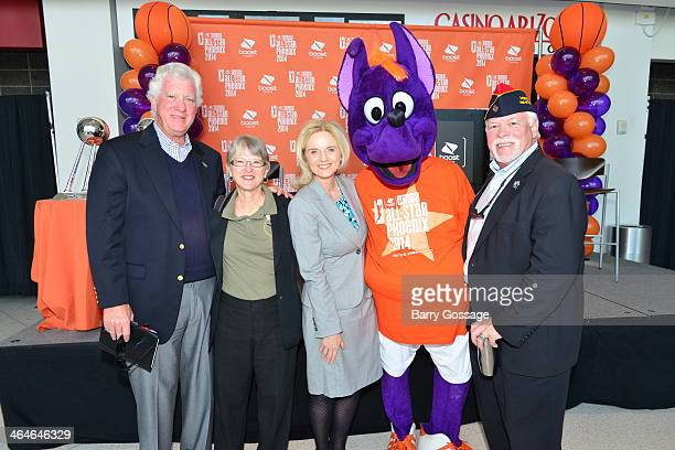 The WNBA and Phoenix Mercury announce the Boost Mobile WNBA All Star 2014 Game at the US Airway Center in Phoenix on July 19 2014 on January 22 2014...