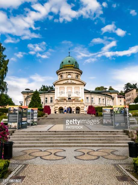 the 'wojciech' or 'zdroj wojciech' physiotherapy spa built in 1880 - {{asset.href}} stock pictures, royalty-free photos & images