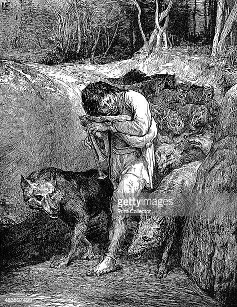 'The WolfCharmer' 1881 Belief in wolf charmers widespread in France in the first half of 19th century and was the last vestige of the werewolf legend