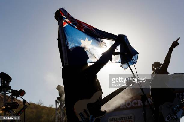 The Wolfe Brothers perform at the Big Red Bash 2017 on July 6 2017 in Birdsville Australia