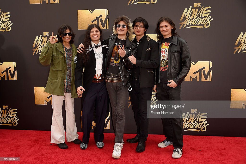 'The Wolfpack' Angulo Brothers attends the 2016 MTV Movie Awards at Warner Bros. Studios on April 9, 2016 in Burbank, California. MTV Movie Awards airs April 10, 2016 at 8pm ET/PT.