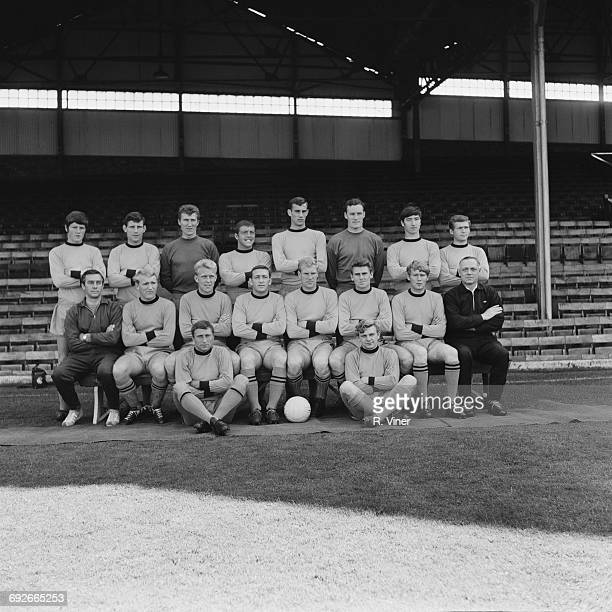 The Wolverhampton Wanderers FC football team UK 11th August 1966