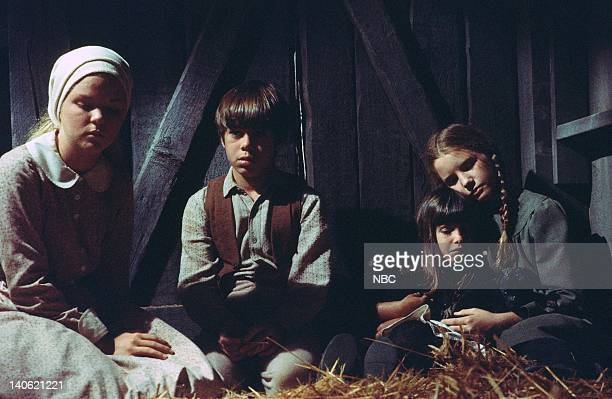 PRAIRIE The Wolves Episode 5 Aired Pictured Melissa Sue Anderson as Mary Ingalls Patrick Labyorteaux as Andrew'Andy' Garvey Lindsay or Sydney...