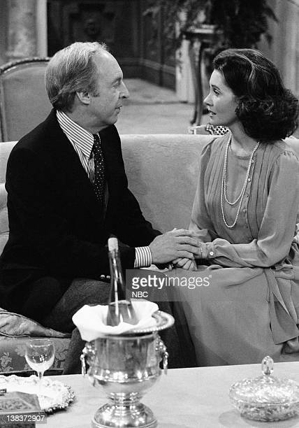 RENT STROKES The Woman Episode 12 Pictured Conrad Bain as Philip Drummond Elinor Donahue as Diane Sloane