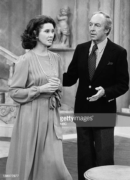 RENT STROKES The Woman Episode 12 Pictured Elinor Donahue as Diane Sloane Conrad Bain as Philip Drummond