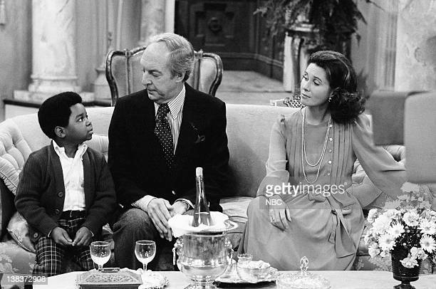 RENT STROKES The Woman Episode 12 Pictured Gary Coleman as Arnold Jackson Conrad Bain as Philip Drummond Elinor Donahue as Diane Sloane